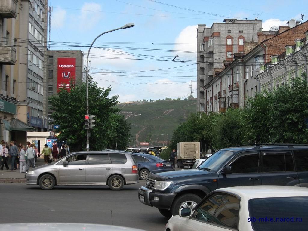 Красноярска железнодорожный и